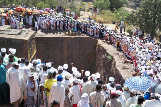 Tour of Christmas Festival Celebration in Lalibela 15 Days